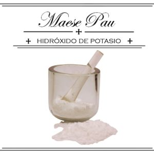 Hidróxido de Potasio - Potasa Cáustica
