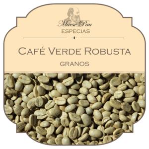 café verde en granos