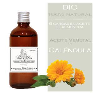 aceite vegetal de caléndula oleomaserado