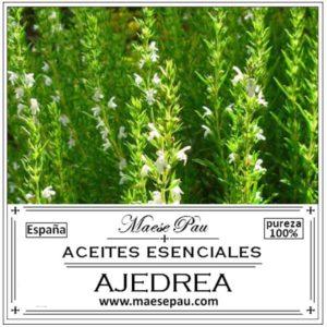 aceite esencial de Ajedrea