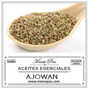 aceite esencial de ajowan para aromaterapia