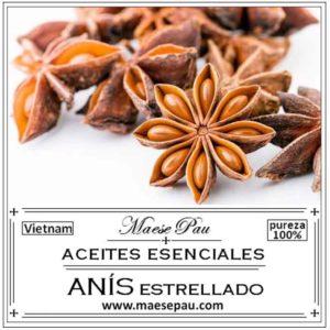 Aceite Esencial de Anís Estrellado