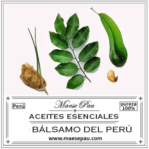 Aceite Esencial de Bálsamo del Perú