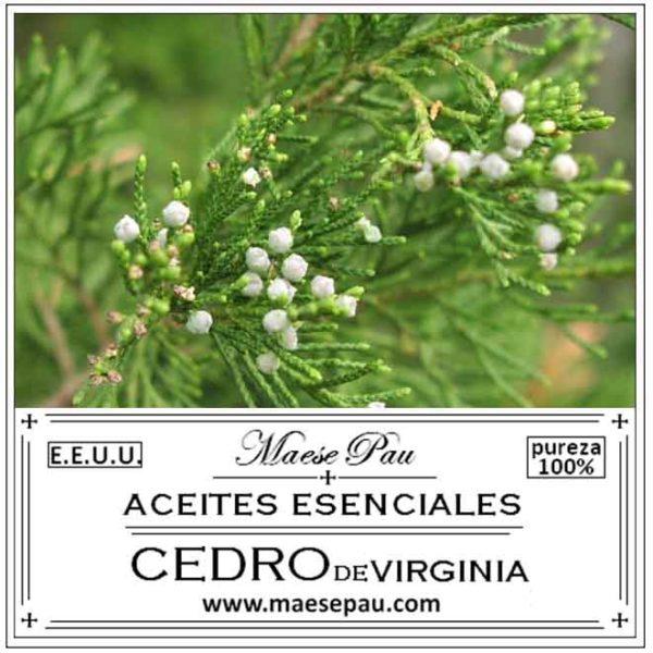 Aceite Esencial de Cedro de Virginia