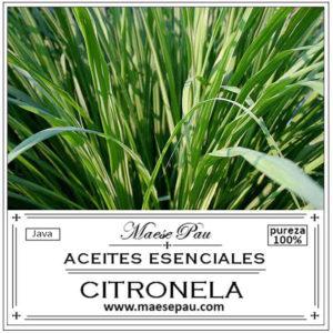 aceite esencial de citronela pura natural