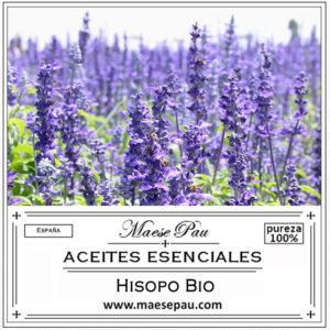 aceite esencial de hisopo cineol bio