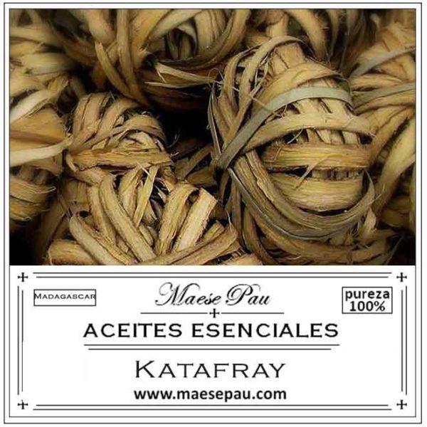 Aceite Esencial de Katafray