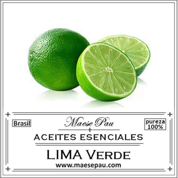 Aceite Esencial de Lima Verde