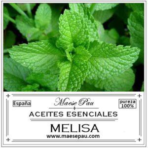 aceite esencial de melisa bio