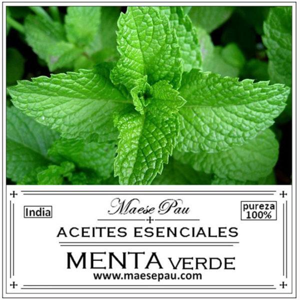 aceite esencial de mente verde