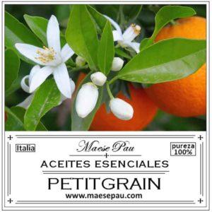 Aceite Esencial de Petitgrain Bigarade
