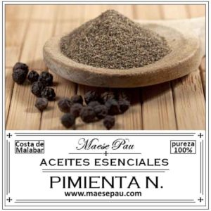 Aceite Esencial de Pimienta Negra