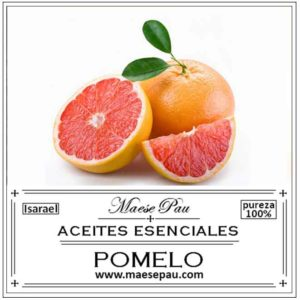 Aceite Esencial de Pomelo Rosado