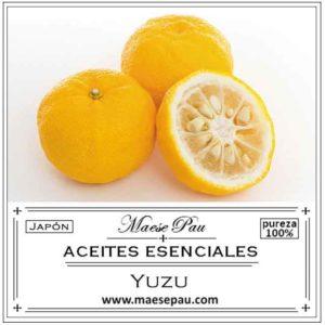 Aceite Esencial de Yuzu