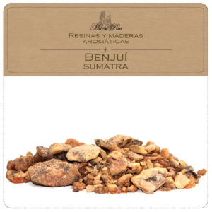 benjuí sumatra, resina vegetal para perfumería niche, aromaterapia, cosméticas natural