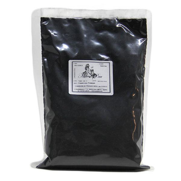 Carbón Vegetal Activado Micronizado de Coco