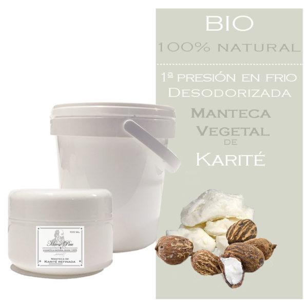 manteca de karité desodorizada bio