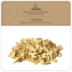 orris-raiz de lirio florentino