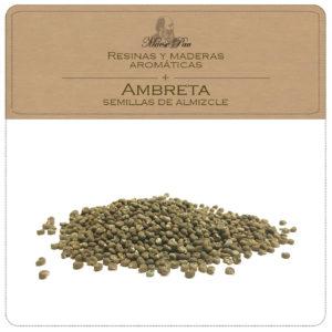 ambreta, semillas de almizcle, resina vegetal para perfumería niche, aromaterapia, cosméticas natural