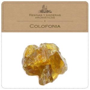 colofonia - resina