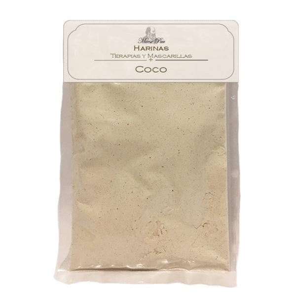 polvo micronizado bio de coco para base de cosmeticos naturales