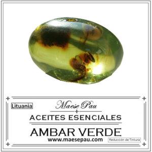 esencia de ambar verde reduccion para perfumería niche