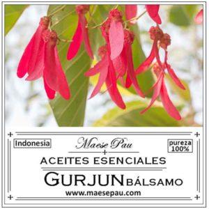 Aceite Esencial de Bálsamo de Gurjum