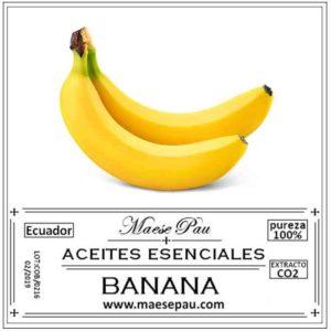 esencia aromática de banana