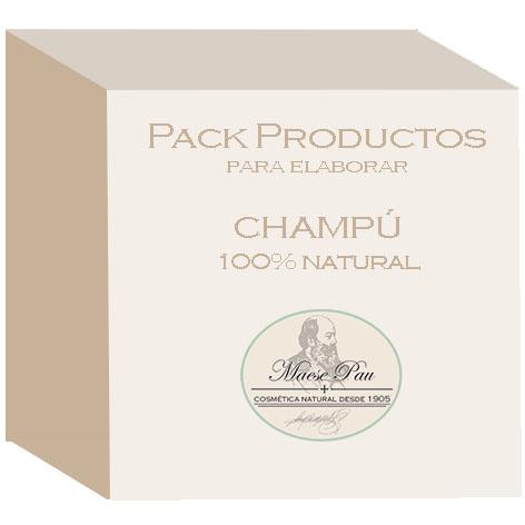 pack para fabricar champú 100% natural
