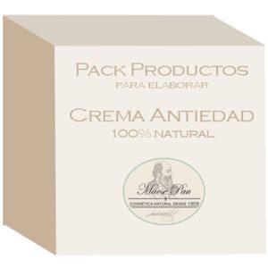 pack para elaborar crema antiedad