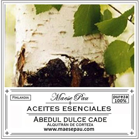Aceite Esencial de Abedul Dulce Cade