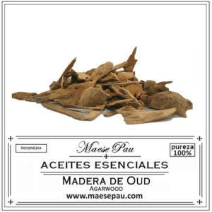 aceite esencial de madera de oud - agarwood