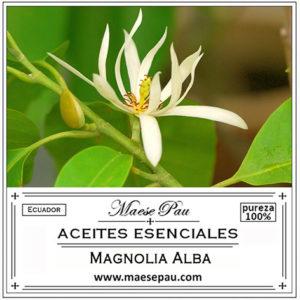 aceite esencial de magnolia alba