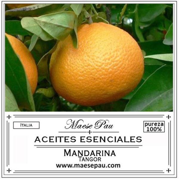 aceite esencial de mandarina tangor