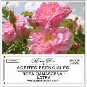 aceite esencial de rosa damascena extra
