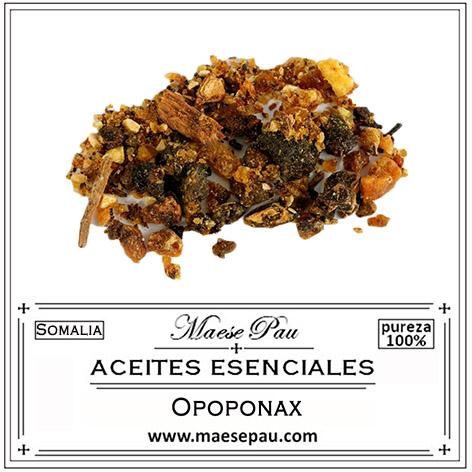 aceite esencial de opoponax