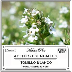 aceite esencial de tomillo blanco