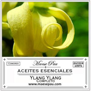 aceite esencial de Ylang Ylang completo
