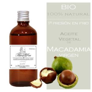 aceite de macadamia virgen