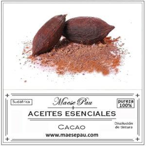 absoluto en disolución de cacao para perfumistas