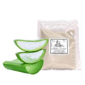 propiedades del aloe vera deshidratado en polvo para cosmética natural