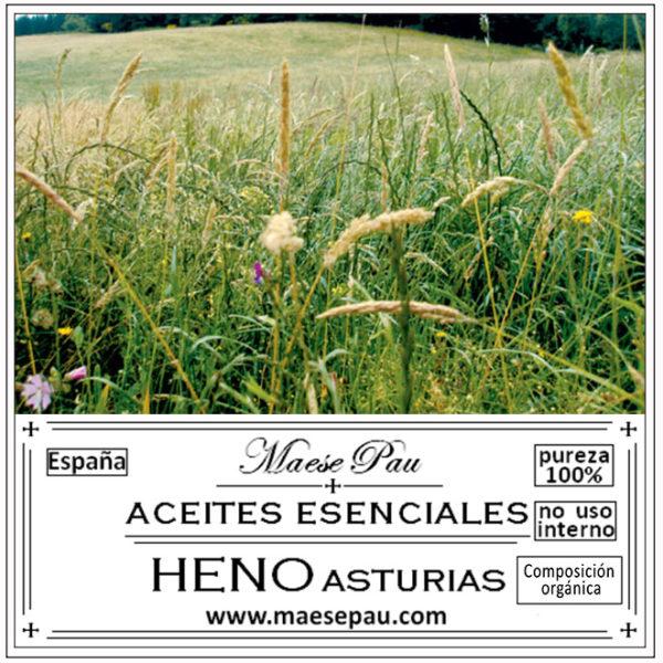 esencia aromática de heno de asturias