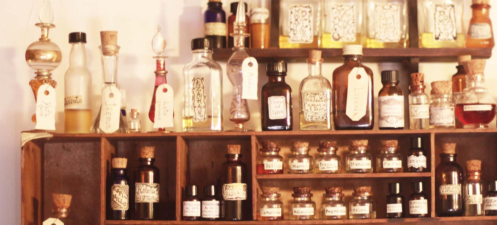 receta para hacer perfumes