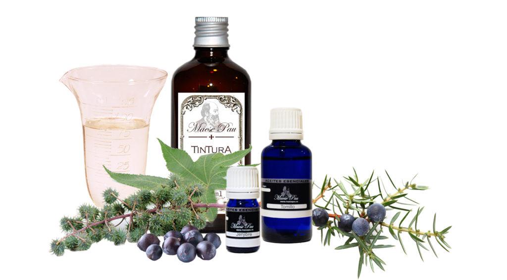 receta de bálsamo para masajes circulatorios