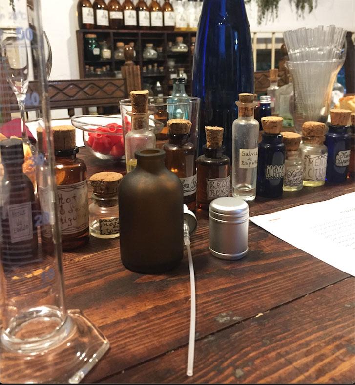 hacer perfume unisex con aceites esenciales