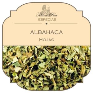 comprar albahaca hojas secas