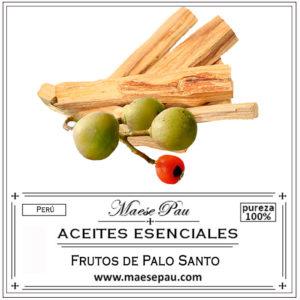 frutos d epalo santo aceite esencial