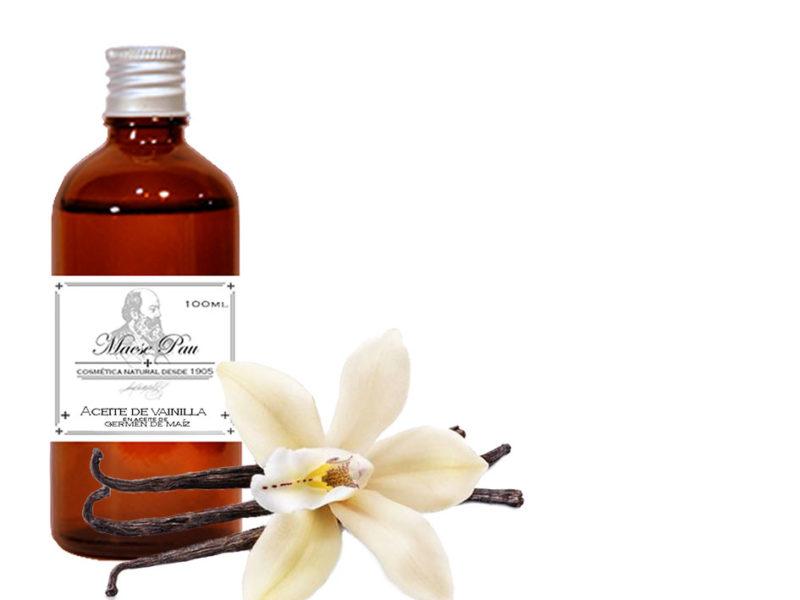 extractos oleosos de vainillas
